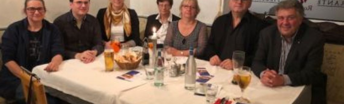 3. Stammtisch on Tour in Erlangen