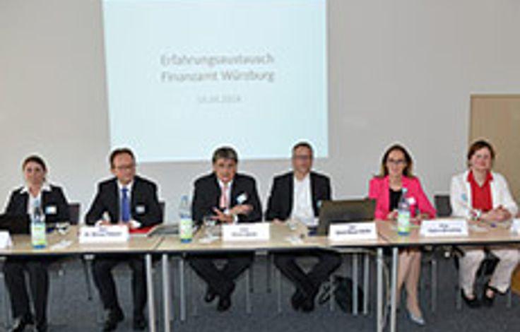 Klimatagung im Finanzamt Würzburg verzeichnet rege Teilnahme